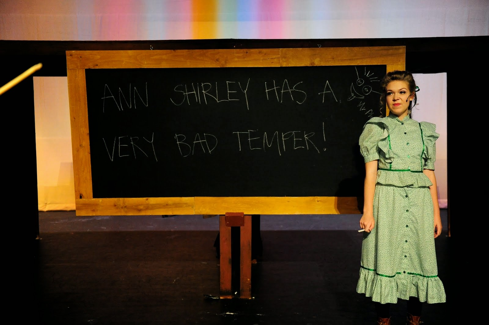 Anne Shirley has a very bad temper!
