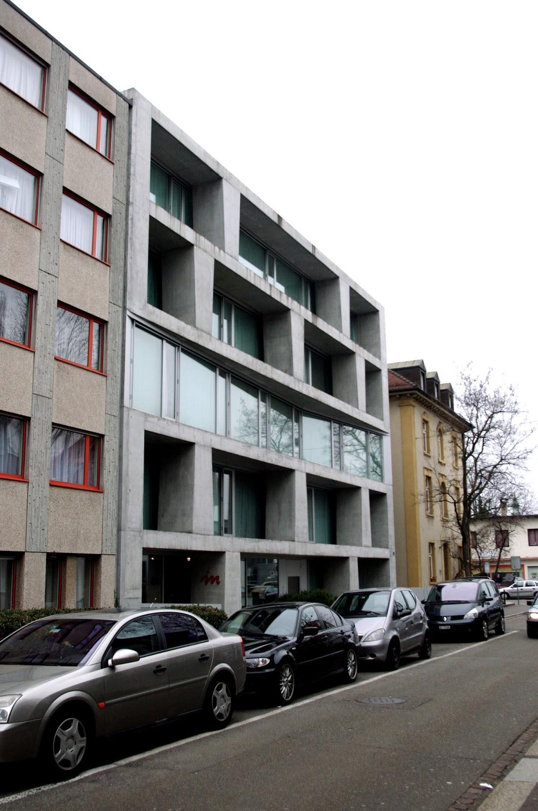 M2c blog residential building by silvia gm r reto gm r - Architekten basel ...
