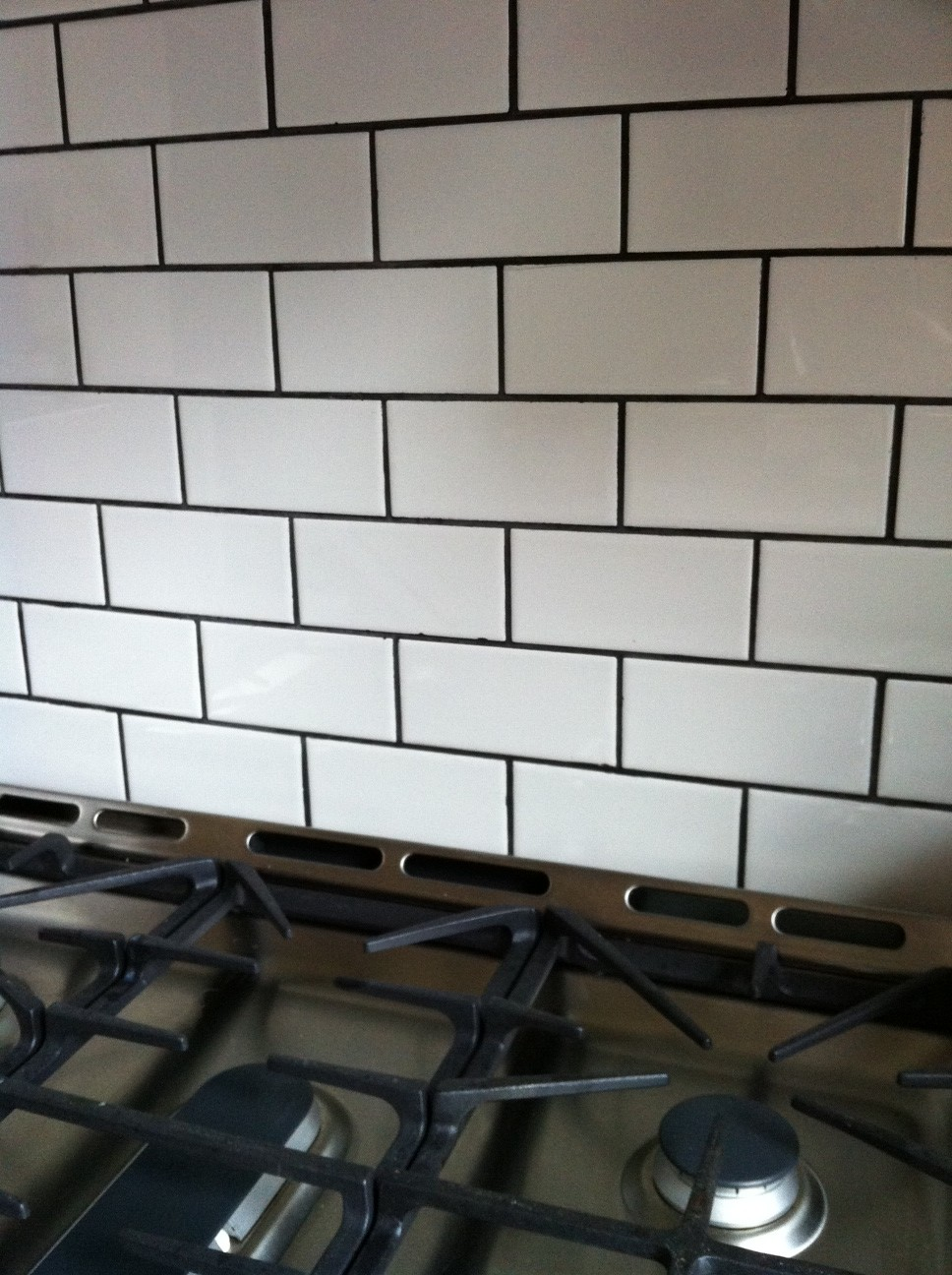 subway tiles with black grout for the home pinterest. Black Bedroom Furniture Sets. Home Design Ideas