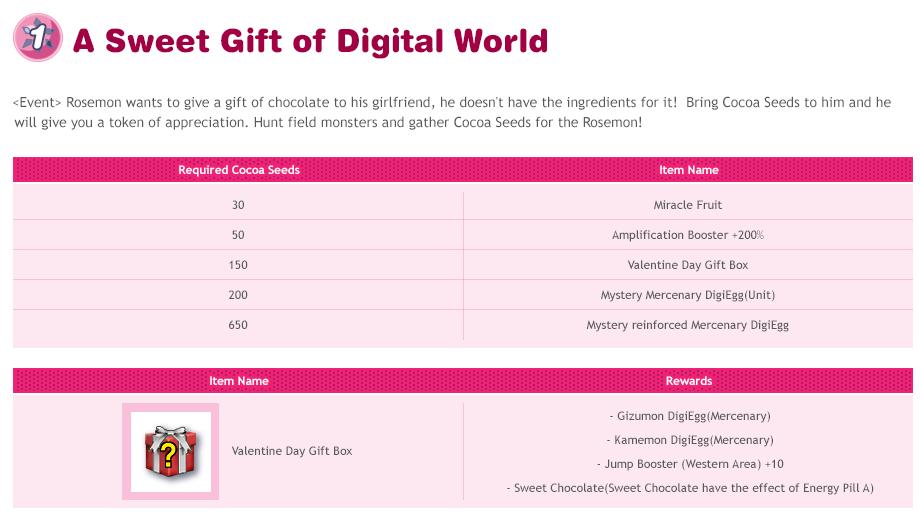 Notícias DMO - Valentine Day Event