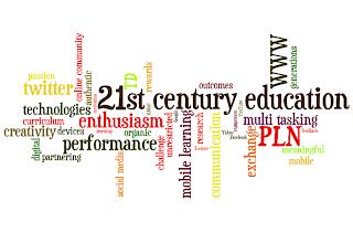 21st century teacher word cloud