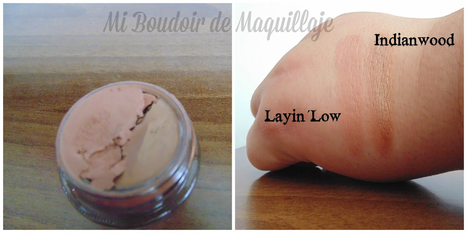 Indianwood y Layin´ low Mac paintpot