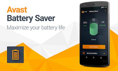 Aplikasi Penghemat Baterai Android Avast Battery Saver