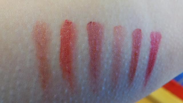 Christmas lips gloss swatch gift