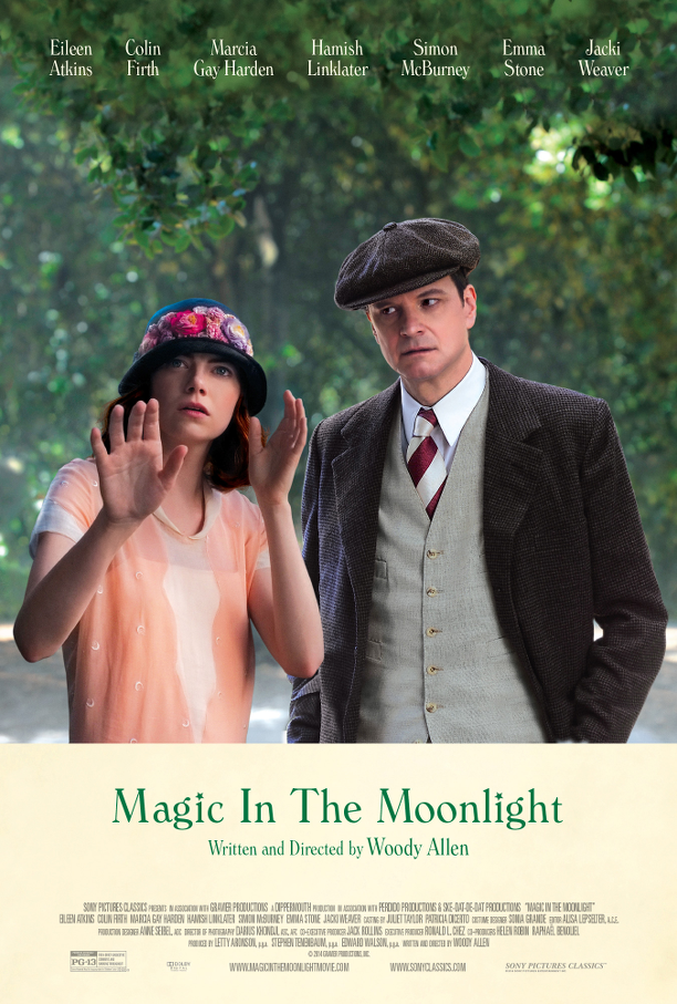 cinema, Woody Allen, recensione, film, movie, Emma Stone, Colin Firth, Magic in the moonlight, magic, regia