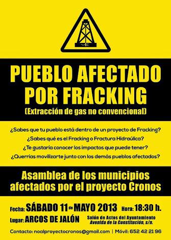 No al Fracking!!!