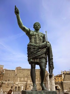 giulio cesare statua