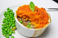 Minted Shepherds pie with Sweet Potatoes