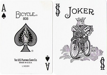 Playing Cards Ace Joker ไพ่เอซ โจ๊กเกอร์