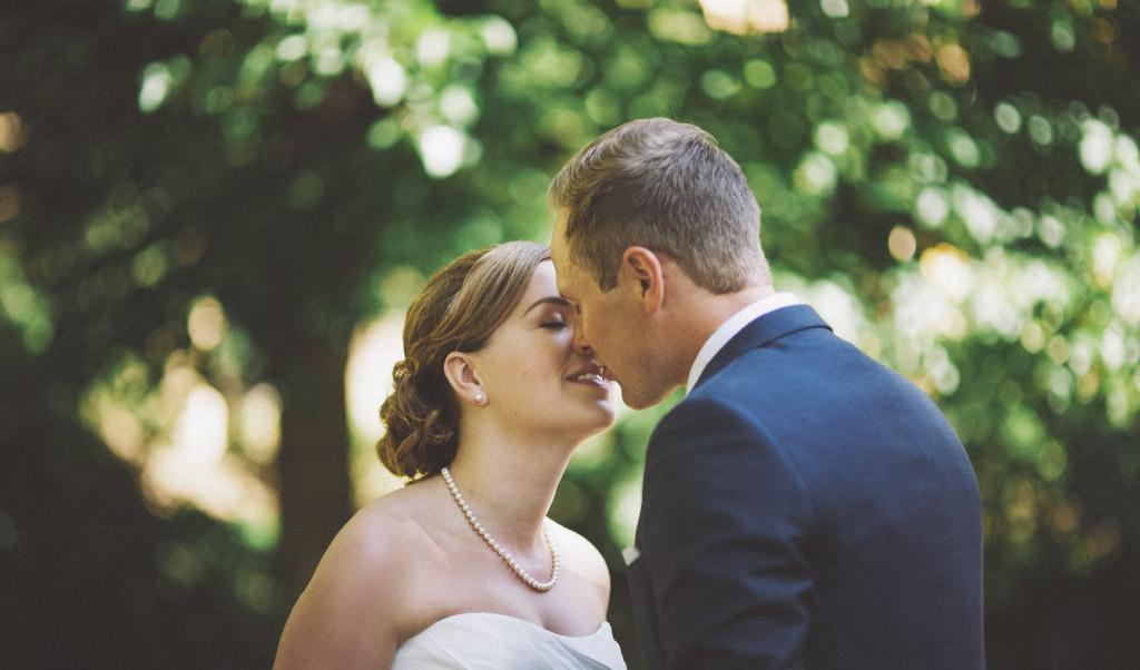 First look på Hanna och Peters bröllop i Falun