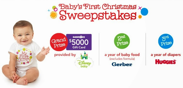 Babies 1st Christmas Sweepstakes