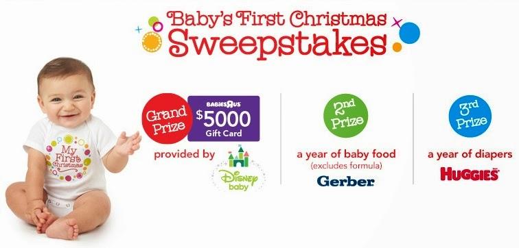 Babies 1st Christmas Sweepstakes