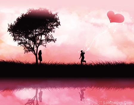 Hình ảnh đẹp lãng mạn trong tình yêu