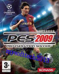 PES 2009 Free Download image, mysofttech2013, PES 2009 Free Download full game for pc