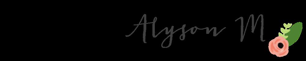 Alyson M