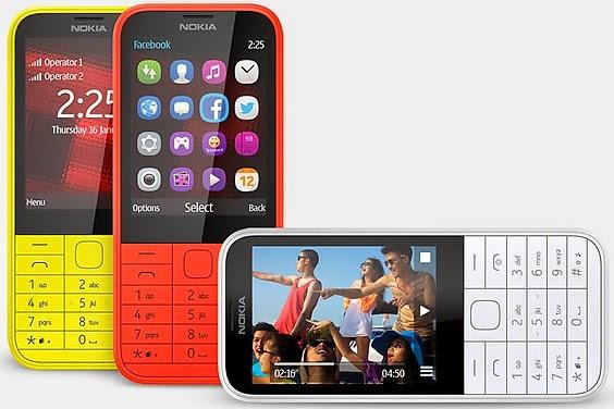 Nokia 225 Dual SIM Ponsel Murah Rp 599.000