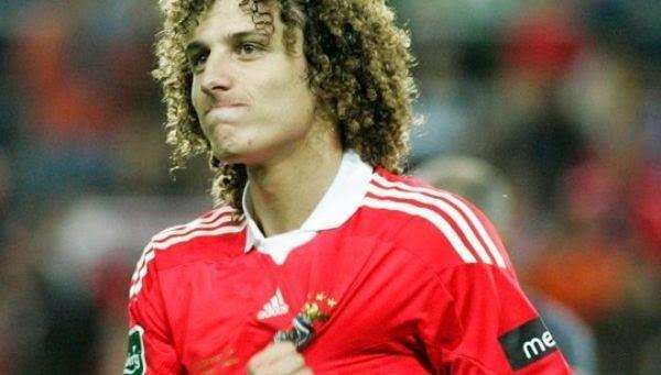 David Luiz en el Benfica