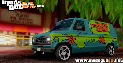 SA - Ford E-150 Scooby Doo