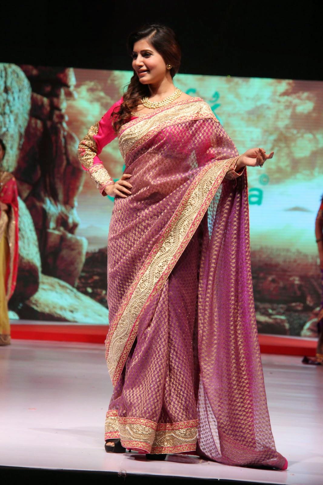 Samantha gorgeous photos in saree-HQ-Photo-18