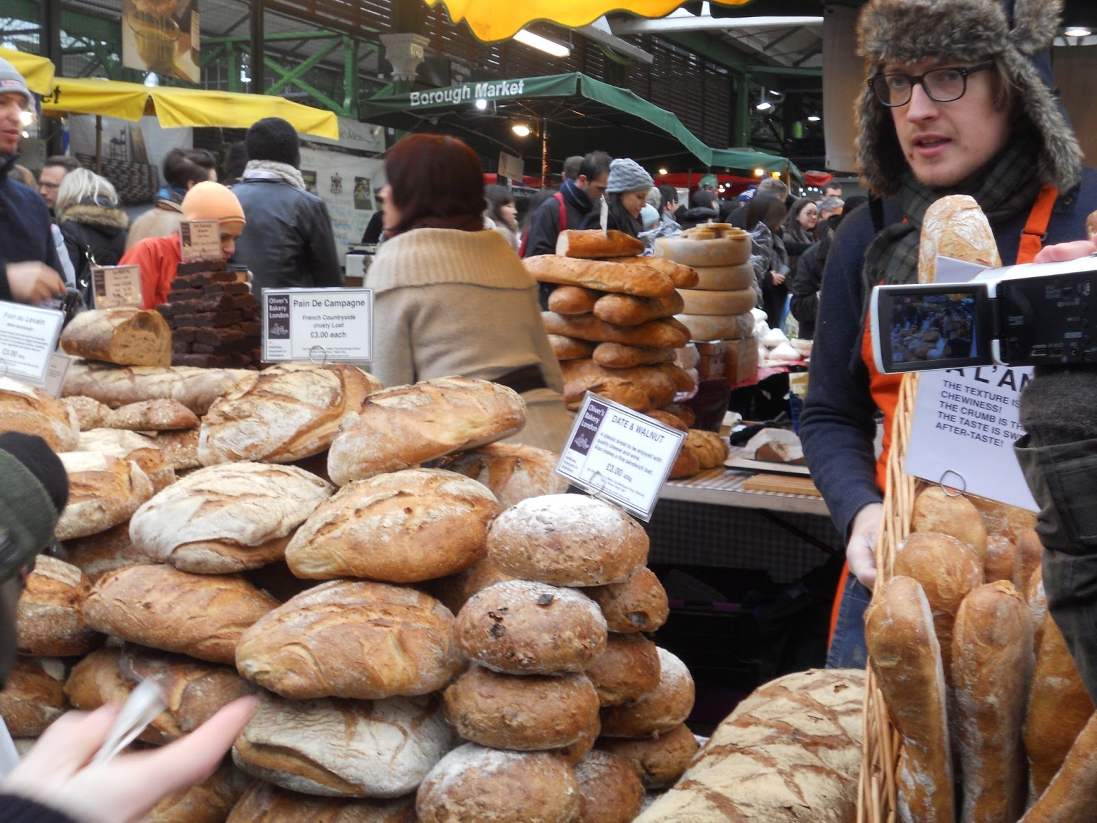 how to get a stall at borough market
