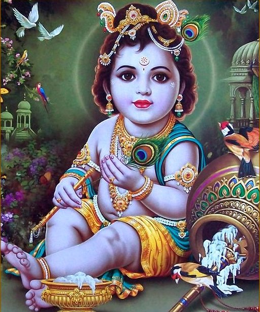 cute baby krishna hd images