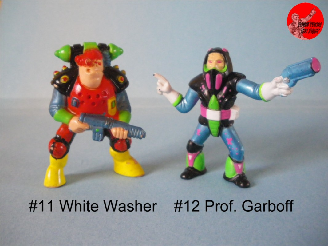 New Ingtrash Bag Bunch From Galoob 7 1991 Sealed