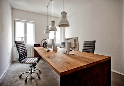 contoh kantor minimalis