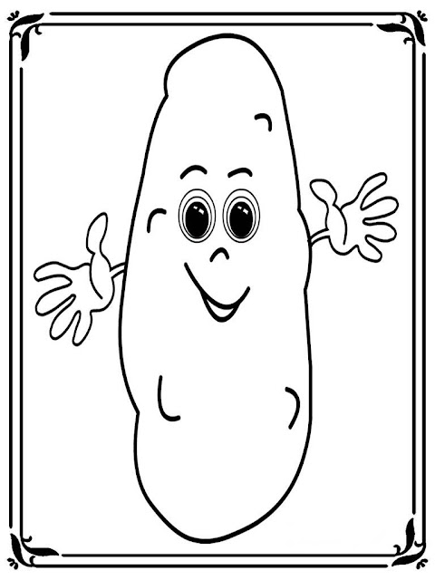 small potatoes disney coloring pages