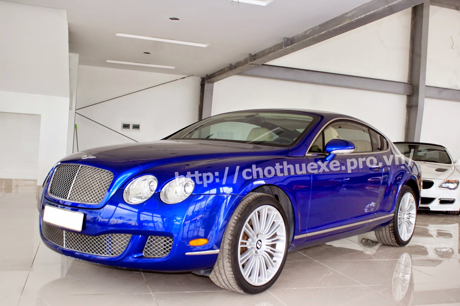 Cho thuê xe Bentley Coninental GT Speed