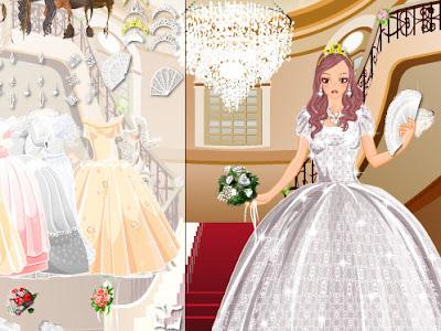 Juegos de vestir munecas para la boda