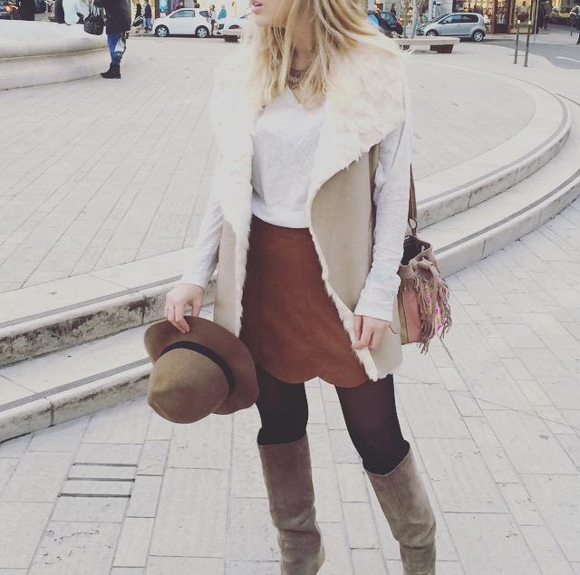Look blogueuse mode à Lyon