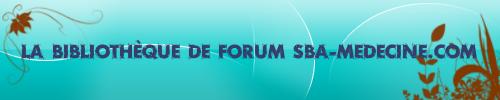 livres de medecine de forum sba-medecine