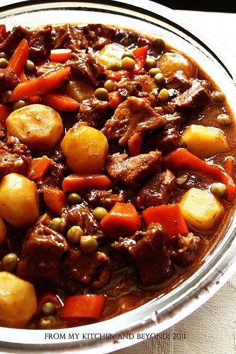 how to cook beef mechado