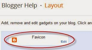 change blogspot favicon
