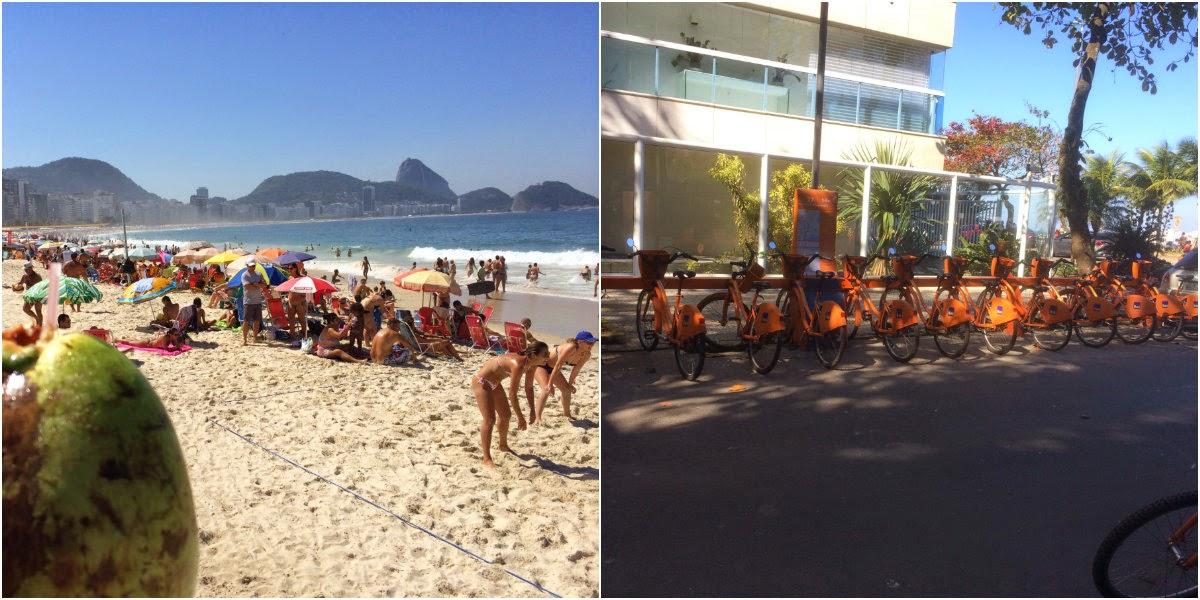 Rio de Janeiro, Cidade Maravilhosa, RJ, errejota, Leblon, Copacabana, BikeRio