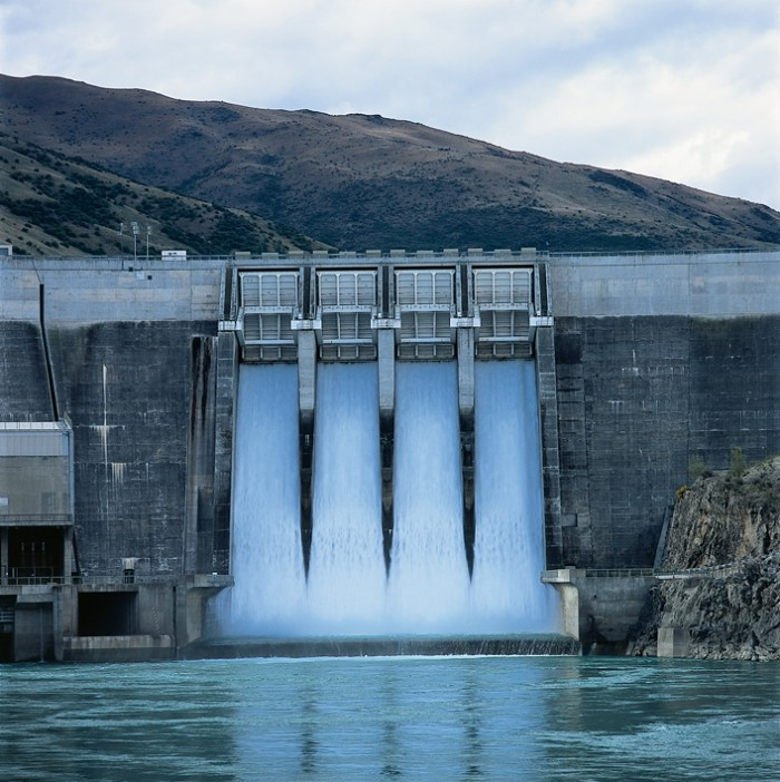 dam to produce electricity.