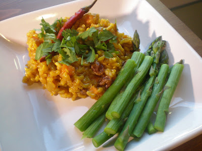 Crockpot Wednesday: Fragrant Long-Life Brown Rice with Sweet Potatoes