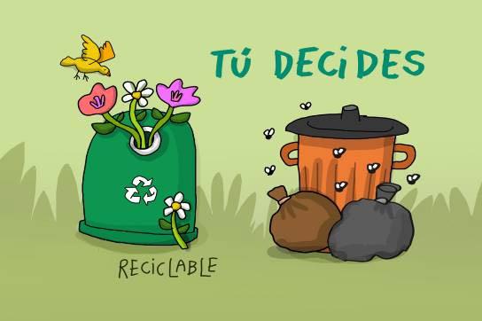 ¿Sabes como reciclar?  ¡Todos podemos hacerlo!