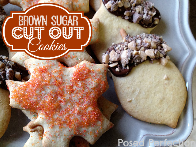 Brown Sugar Cut Out Cookies