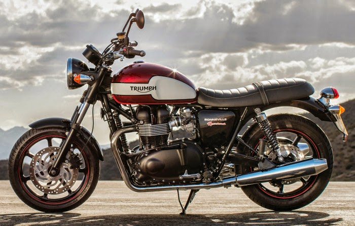 Most Attractive Classic Bike Triumph Bonneville Newchurch