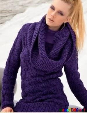 Yeni Moda Bayan Triko Kışlık Kazakları