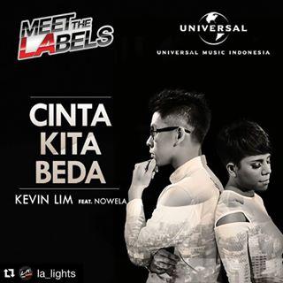 Kevin Lim Feat Nowela - CInta Kita Beda - TheLiriks
