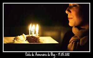 Aniversário do Blog - 19.05.12