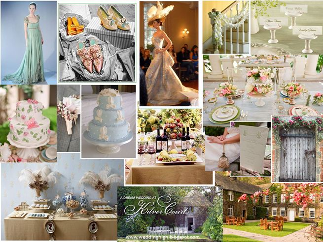 And now for some inspiring wedding ideas 39a la Jane Austen 39