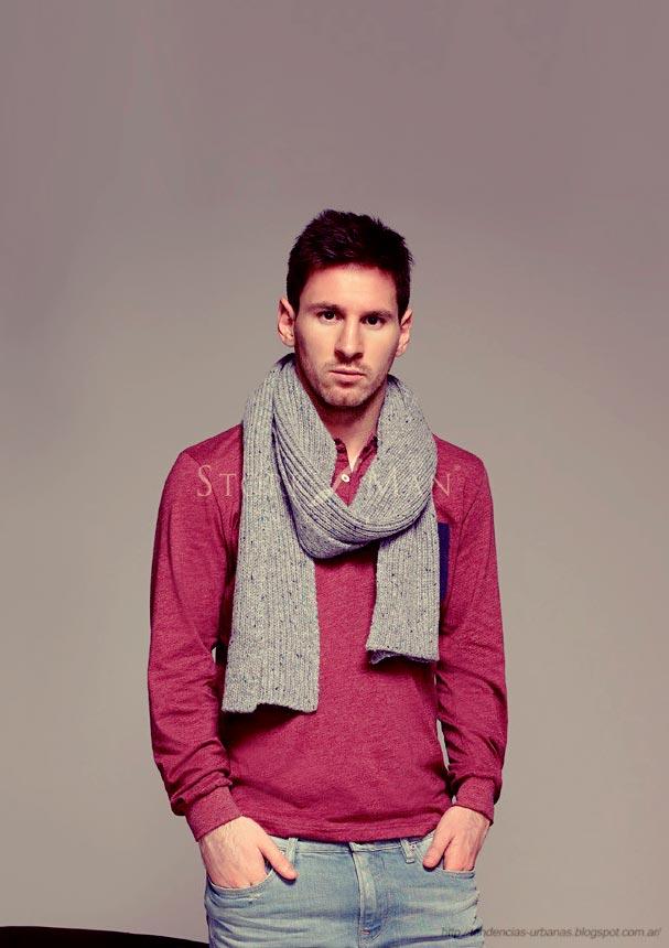 Zapatos Stork Man  campaña otoño invierno 2013 con Lionel Messi