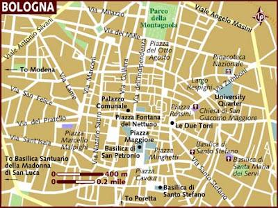 Mappa Politica di Bologna