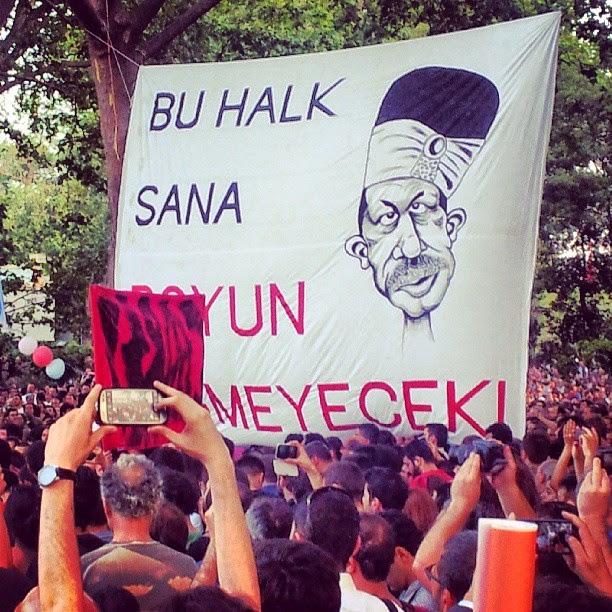 30 Mayıs 2013 Gezi Parkı Bu halk sana boyun eğmeyecek...