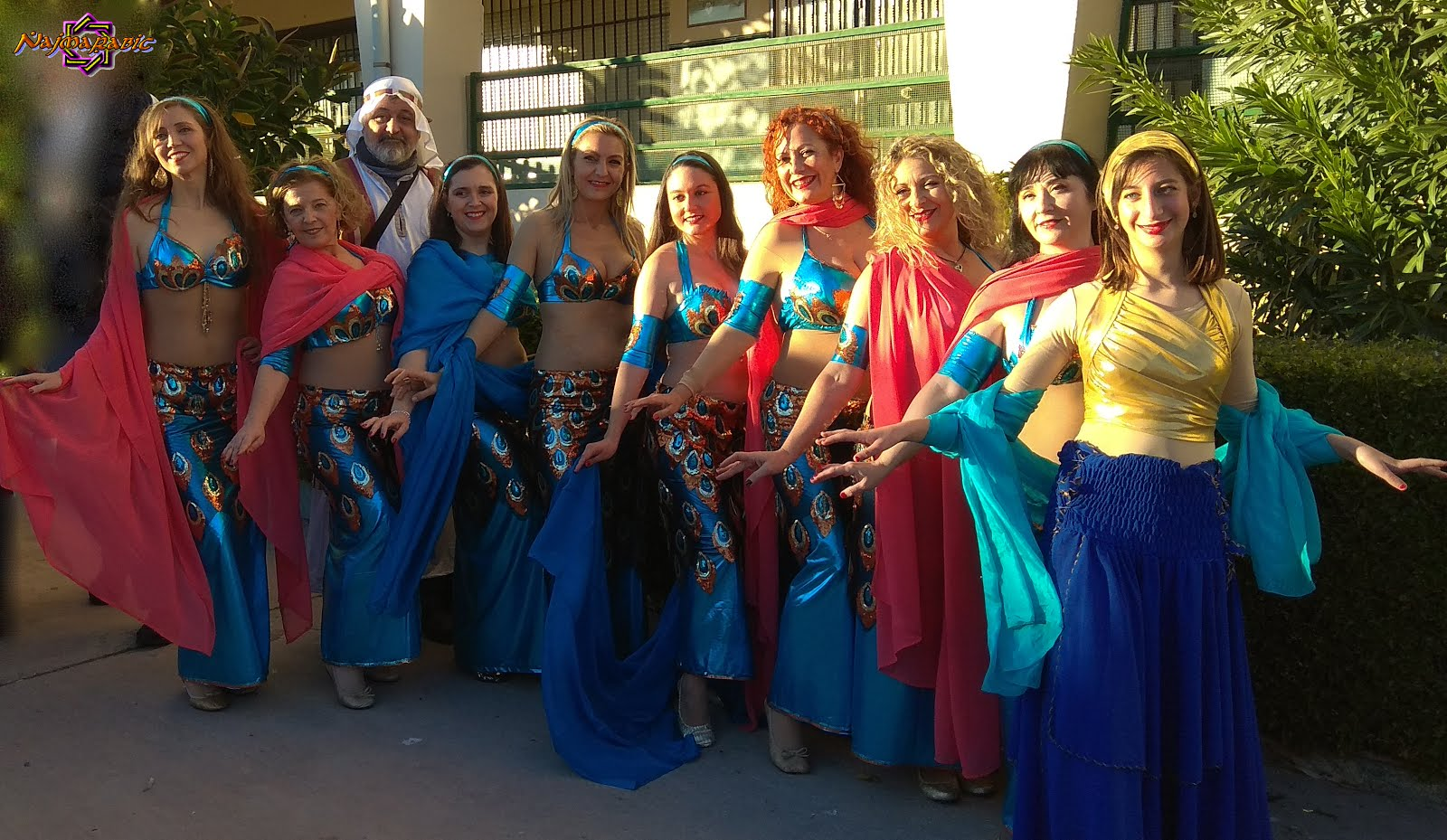 Najmarabic en Cabalgata de Reyes de El Palo 2018