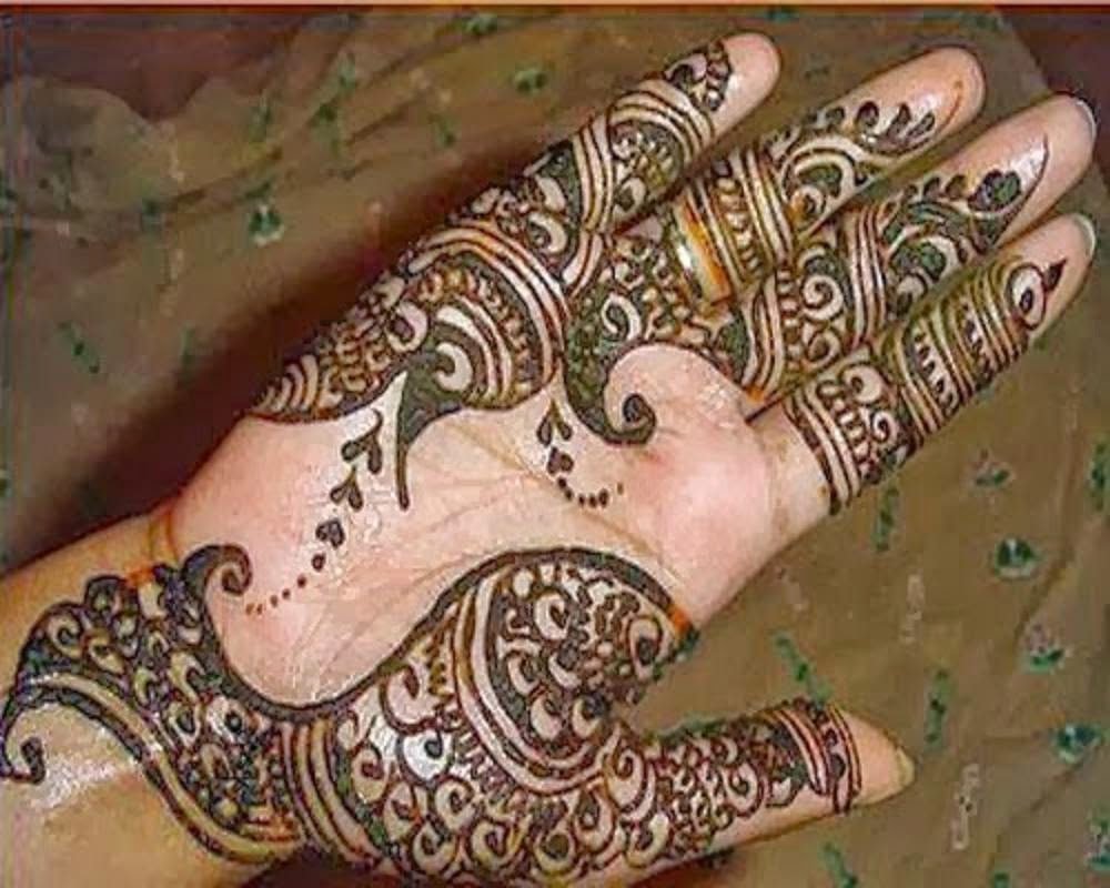 Bridal Mehndi Designs Latest Beautiful Eid Mehndi Designs