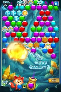 صورة من داخل اللعبة Bubble Shooter